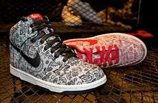 Romantic Running Shoes - The Nike Valentine's Day 2011 Pack Features Sketched Patterns