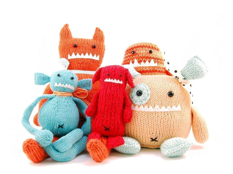 DIY Eco Monster Toys