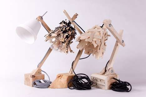 Eco Timber Lamps