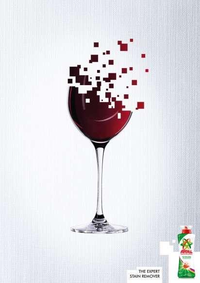 Pixel-Spilling Ads