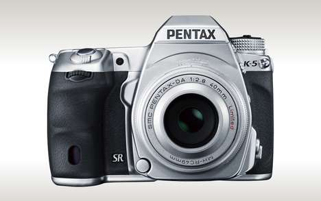 The Pentax K-5 Silver Edition has a Luxurious Look