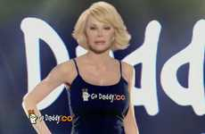 Unlikely Celebrity Spokespersons - The 2011 Super Bowl GoDaddy Commercial Features Joan Rivers