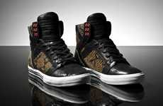 Rockstars Kicks - The Badass Snake Skin Slash x Supra Sneaker is Awesome