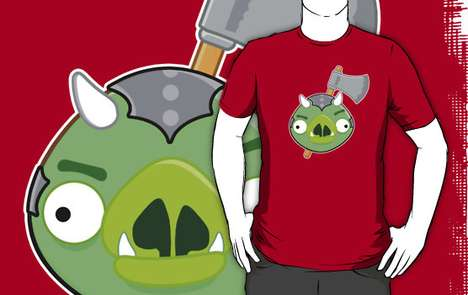 Geek Crossover Fashion - The Angry Birds vs Star Wars T-Shirt Has a Nerdy Design