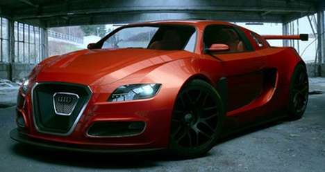 Redesigned Supercars - Andrus Cirprian's Audi Onix is a Mean Street Machine