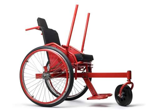 Lever-Operated Wheelchairs