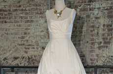 Casual Bridal Gowns - The Urban Outfitters BHLDN Collection Ventures into the Wedding Market