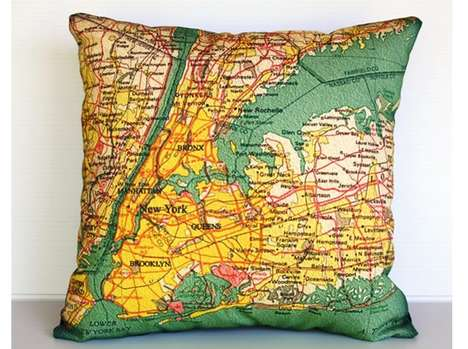 Cartographic Cushions