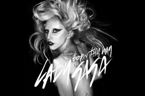 Wild Mane Celeb Covers - The Lady Gaga 'Born This Way' Single Cover is Super Hot