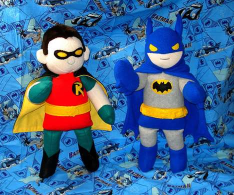 Cute Comic Book Plushies