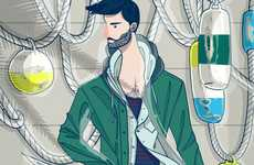 Couture Menswear Drawings