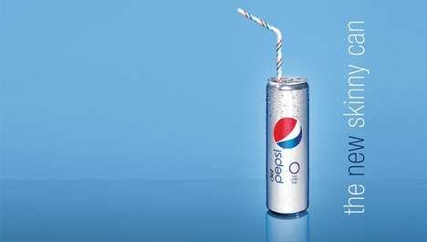 Skinny Soda Cans