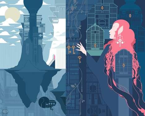 Vibrant Psychedelic Illustrations