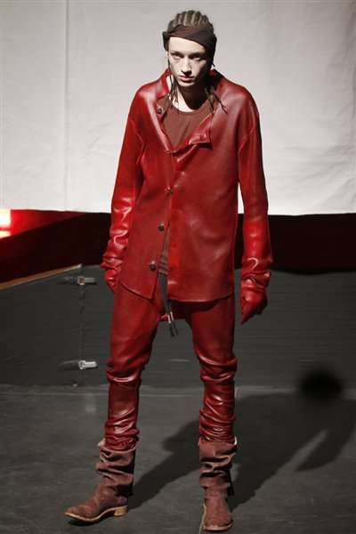 Boris Bidjan Saberi Creates Wicked Blood-Stained Clothing