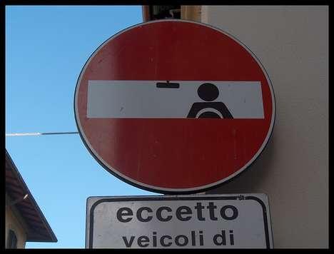 Street Sign Graffiti