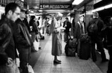 Subway Snapshots - Nicolosi Takes Awesome Candid Photos of People on Public Transit