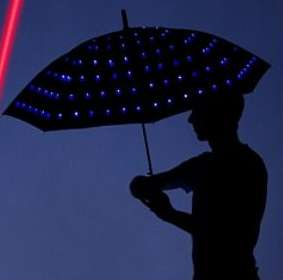 Luminous LED Parasols