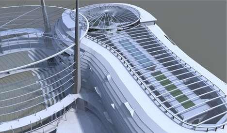 Futuristic Breathing Hotels