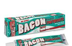 Meaty Oral Hygiene - Start Off the Morning Right With Bacon-Flavored Toothpaste