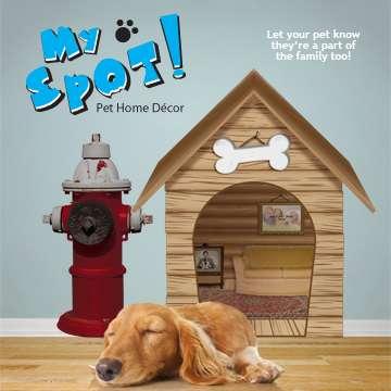 Illusionary Dog Houses