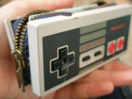 The No Sew NES Controller Wallet Would Make Mario Proud