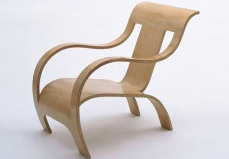 Shapely Wood Seating