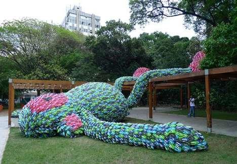 Giant Eco Primate Art