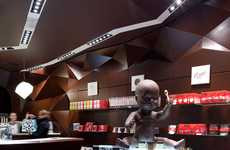 Rich Chocolate Retailers - La Maison Des Maitres Chocolatiers Belges is Nothing if Not Consiste