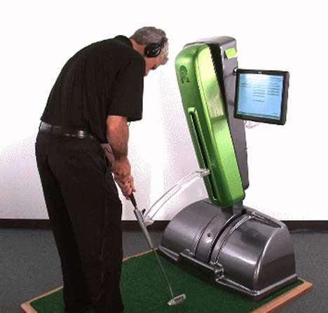Golf Lesson Kiosks