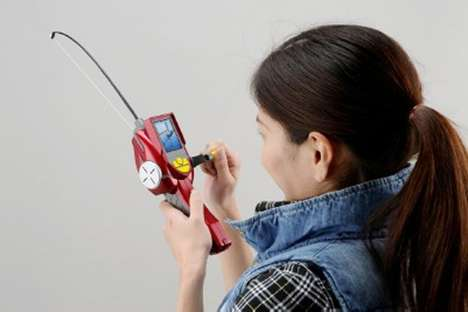 Virtual Fishing - Takara Tomy's Virtual Master Real Toy Lets You Reel in Fish Anywhere