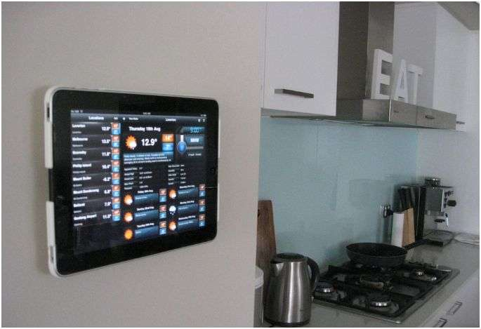 Wall-Mounted Tablets
