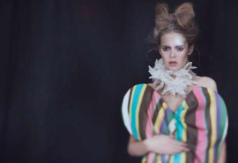 Maude Arsenault for Push It Magazine Captures a Circus-Like Editorial