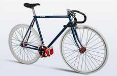 Jean-Inspired Bikes - The Levi's Fixie Bike Gets the Denim Brand on Wheels