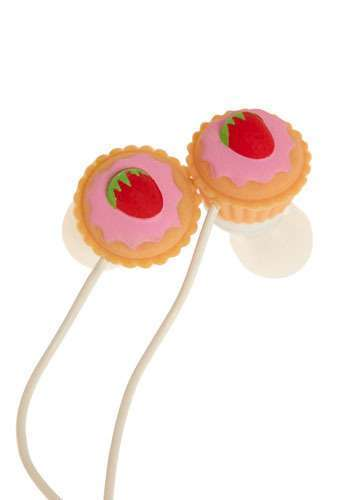 The Sweet Sounds Ear Buds Look Delicious