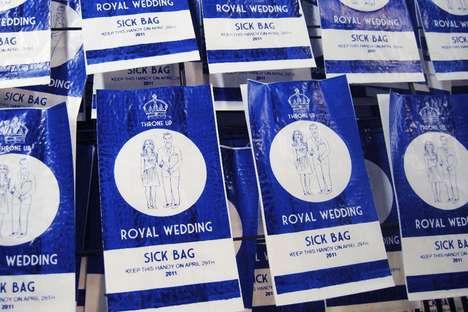 Royal Wedding Vomit Bags