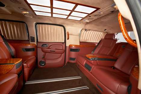 $474,130 Executive Escalades - The Cadillac Escalade ESV XXXL is the Ultimate VIP Limousine