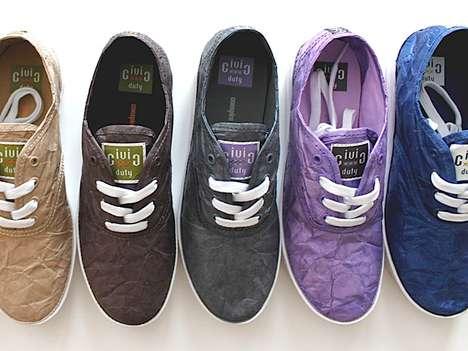Chic Tyvek Footwear