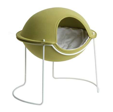 UFO-Inspired Pet Sleepers