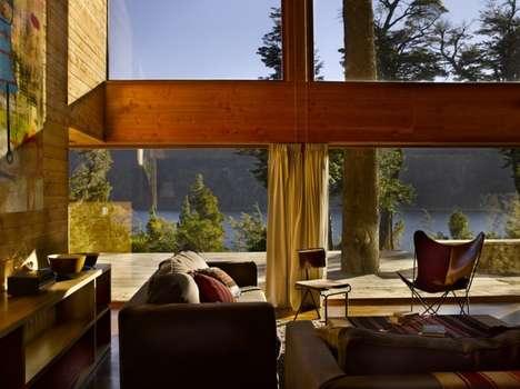 Green-Roofed Retreats