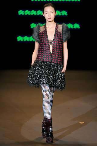 Patchwork Punk Couture