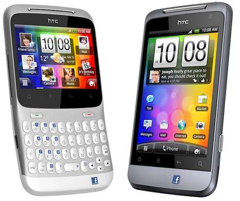 Social Networking Phones - The HTC Chacha and Salsa Fulfill all your Networking Needs