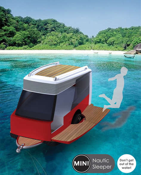 Floating Mobile Tents