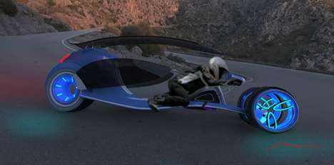 Electric Alternating Motorbikes