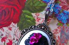 Pretty Skeletal Jewels - Couture by Lolita Creates Day of the Dead Themed Jewelry & Accessories