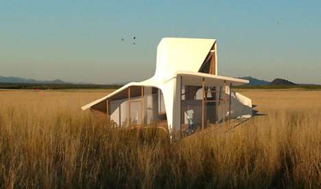 Futuristic Farm Houses