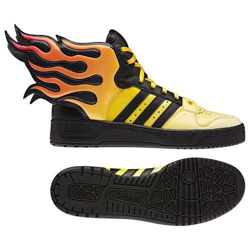 Jeremy Scott Flame Shoes