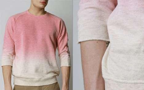 Pink Gradient Sweaters