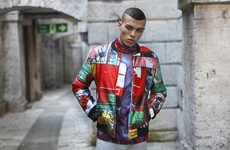 Vividly Unconventional Outerwear - Fashion156 Issue 37 Covers Men Up in Outlandish Gear