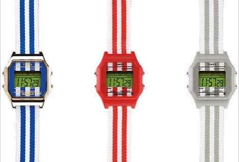 Striped Retro Timepieces