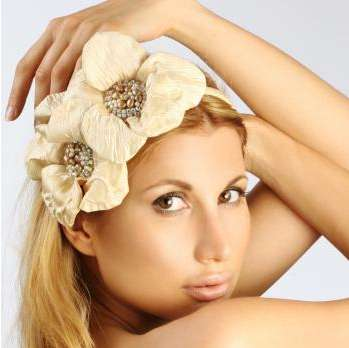 Delicate Floral Headbands